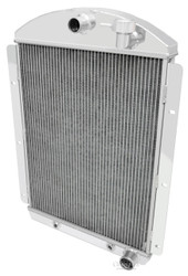 1941 1942 1943 1944 1945 1946 Chevy C/K Pickup 2 Row All Aluminum Radiator