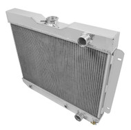 1962 1963 1964 1965 Chevy Nova 4 Row Aluminum Champion MONSTER Series Radiator