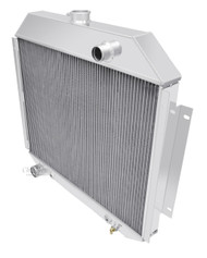 1972 1973 1974 1975 1976 1977 1978 1979 Ford F Series 2 Row Aluminum Radiator 24in. Wide Core