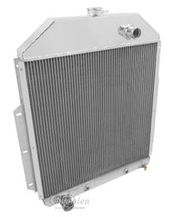 1942-1952 Ford Truck with Ford Conversion 4 Row Core Aluminum Radiator