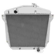 1943 44 45 46 47 48 Chevrolet Cars Champion 4 Row Core Aluminum Radiator For V8 Conversion