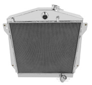 1943 44 45 46 47 48 Chevrolet Cars Champion 3 Row Core Aluminum Radiator