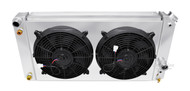 1986 87 88 89 90 91 92 93 94 Chevrolet S10 Champion Cooling PRO Series Radiator Plus Shroud and Fans for V8 Engine Conversion