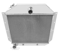 1951 - 1957 International Harvester Truck Champion 3 Row Core Aluminum Radiator