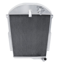 3 Row Performance Champion Radiator for 1939 Chevrolet Master 85 L6 Engine