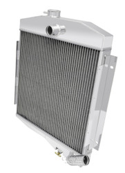 2 Row Aluminum  Champion Radiator for 1965 - 1971 Jeep CJ5 with Buick V6 Engine