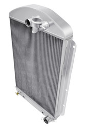 1937 Chevrolet Master (Car) Champion 3 Row Core Aluminum Radiator
