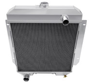 1955 - 1956  Mercury Custom Champion 3 Row Core All Aluminum Radiator