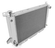 1985 86 87 88 89 90 91 92 93 94 95 96 Ford Bronco 4 Row Aluminum Radiator