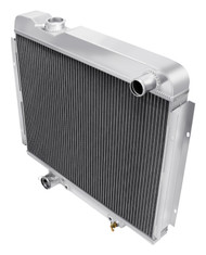 1965 1966 Ford Galaxie 500 Champion 3 Row Core Aluminum Radiator