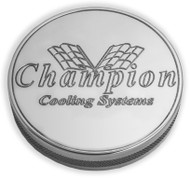 Champion Cooling System Aluminum Billet Radiator Cap for All Champion Radiators
