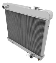 1963 1966 Chevy C/K Series Truck 4 Row Aluminum Radiator