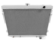 1973 74 75 76 77 78 Mopar with Hemi Engine 4 Row Core Aluminum Radiator