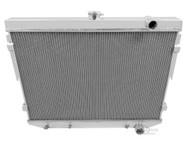 1973 74 75 76 77 78 Mopar with Hemi Engine 4 Row Core Aluminum Radiator