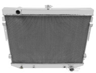 1973 1974 1975 1976 1977 1978 Mopar with Hemi Engine 4 Row Core Aluminum Radiator