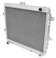 1984 1991 Toyota 4 Runner Champion 2 Row All Aluminum Radiator