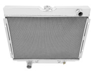 1967 1968 1969 1970 24in. Core Ford Galaxie 500 Champion 3 Row Core Aluminum Radiator