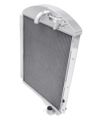 1941 1942 1943 1944 1945 1946 Chevy C/K Pickup 3 Row All Aluminum Radiator V6