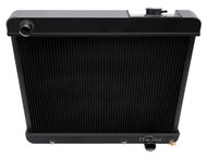 1961 1962 1963 -66 Pontiac Bonneville Champion Aluminum Radiator Black Finish