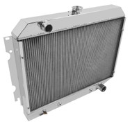 """1970 1971 1972 1973 1974 1975 Plymouth Duster Radiator Has 26"""" Wide Core"""