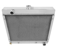 1965 66 Dodge Dart 3 Row Champion Pro Series All Aluminum Radiator