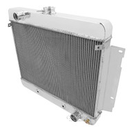 1969-1970 Chevrolet Biscayne 4 Row Champion Aluminum Radiator