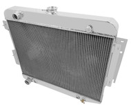 1963 67 68 69 Plymouth 26in Wide Core Champion 3 Row Core Aluminum Radiator MC1638