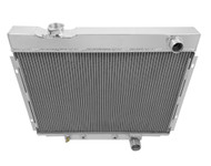 Champion All Aluminum 4 Row Radiator for 1963-1966 Ford Galaxie 500