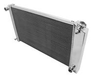 1968 69 70 71 72 73 Pontiac GTO Aluminum Champion Radiator for Manual Transmission