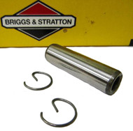 555509 B&S Piston Pin/Clips  5HP Raptor Flathead Model 13