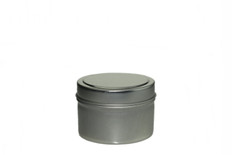 4 oz Tin Containers w/ Lids