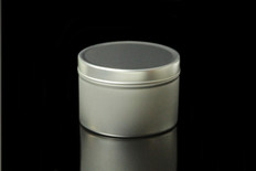 8 oz Tin Containers w/ Lids