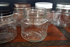 8 oz Mason Jar w/ Metal Lid