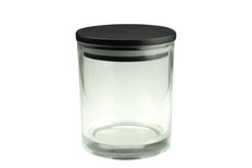 10 oz Clear Cali Jar w/Lid
