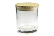 13.5 oz Clear Cali Jar w/Lid
