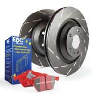 Stage 4 Kits Redstuff and USR rotors 2005-06 FRONT