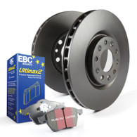 Stage 20 Kits Ultimax2 and RK Rotors Front+Rear 2005-06 GTO