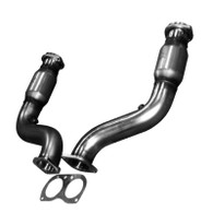 Kooks 05-06 Pontiac GTO LS2 6.0L 3in x 3in OEM Cat SS Exhaust Conn. Pipes