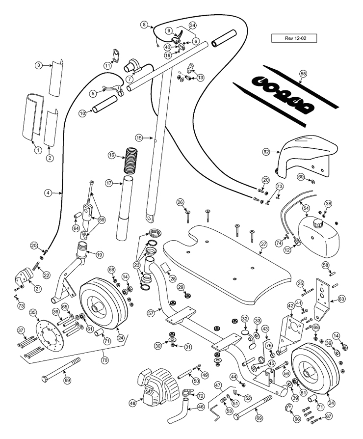 Goped Bigfoot Engine Diagram
