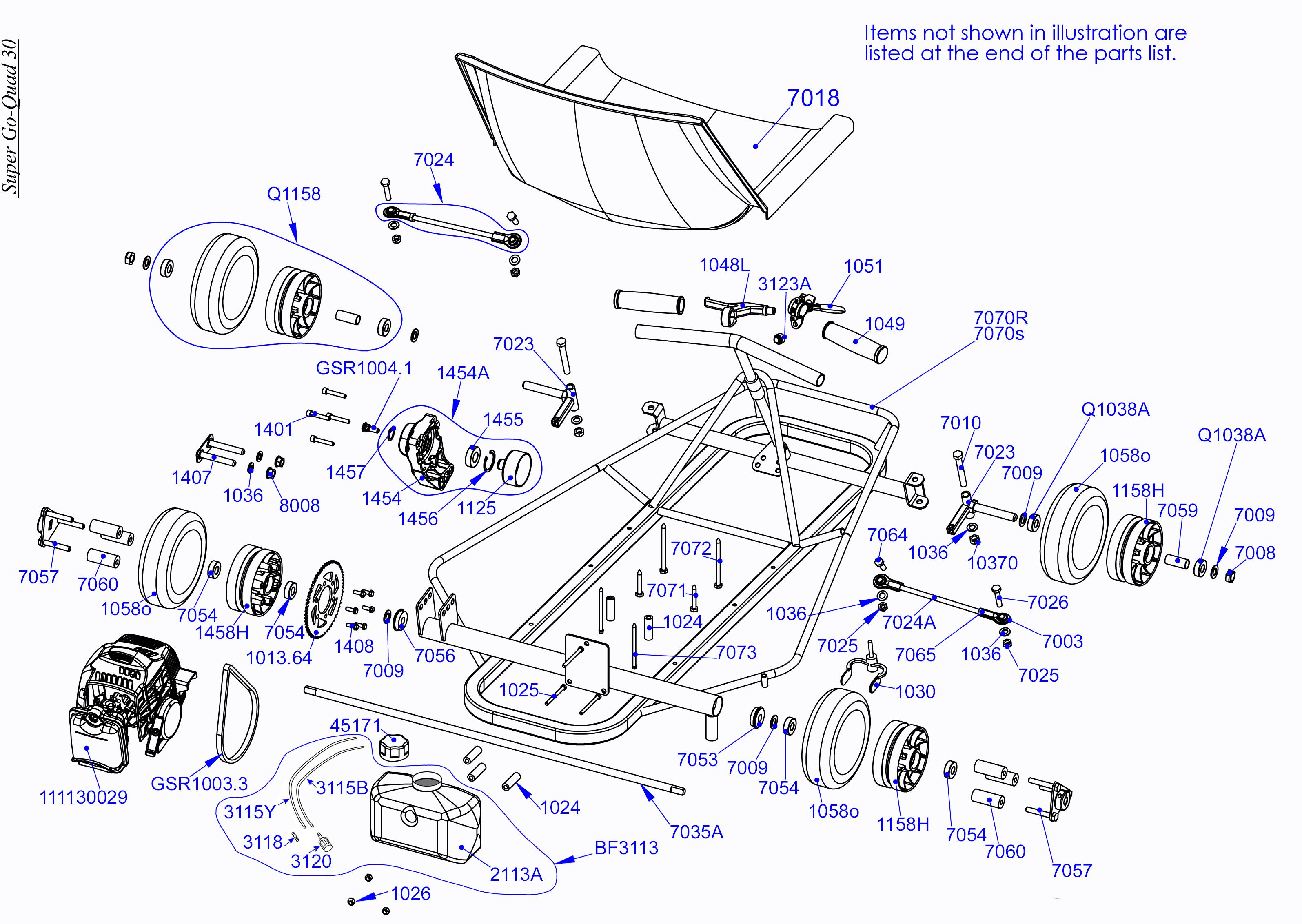Goped Engine Diagram | Repair Manual