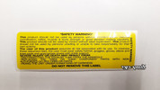 Sticker; Yellow Warning (1063)