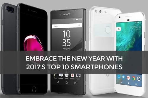 10 best 2017's smartphones
