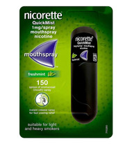 Nicorette QuickMist 1 x 150 Freshmint Mouth Spray 1 mg