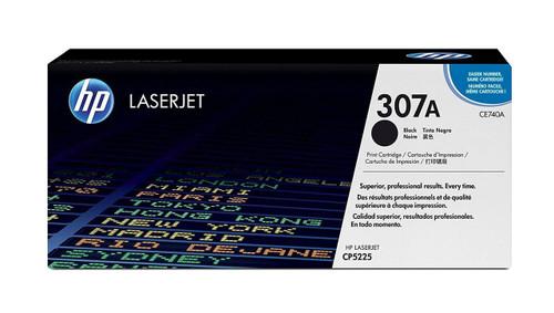 HP 307A Black Original LaserJet Toner Cartridge (MN CE740A)