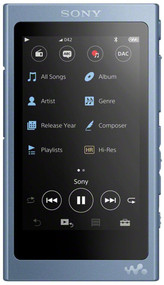Sony NW-A45 Audio Walkman Touchscreen FM Radio - 16GB, Blue