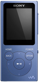 Sony NW-E394 Walkman MP3 Player with FM Radio, 8GB - Blue