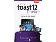 Roxio Toast 12 Titanium - Digital Media Toolkit for Mac