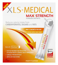 XLS Medical Max Strength Powder Sachets Fruity Flavour 60 Sachets 1 Month Supply