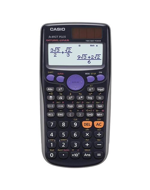 Casio FX-85GT PLUS Scientific Calculator Black