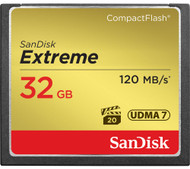 SanDisk Extreme Compact Flash Memory Card - 32 GB